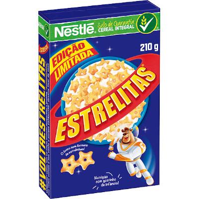 Cereal Matinal cereal integral 210g Nestlé/Estrelitas caixa PCT