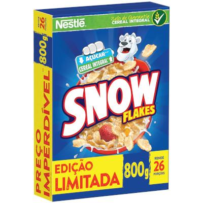 Cereal Matinal cereal integral 800g Nestlé/Snow Flakes caixa PCT