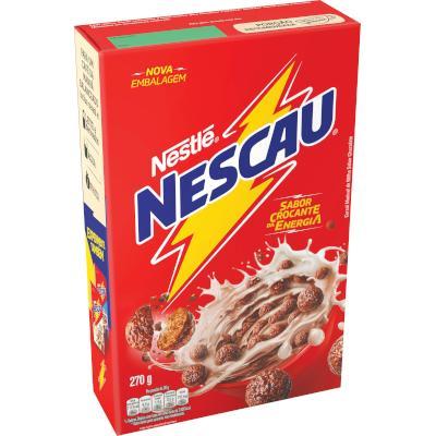 Cereal Matinal de Chocolate 270g Nescau/Nestlé pacote PCT