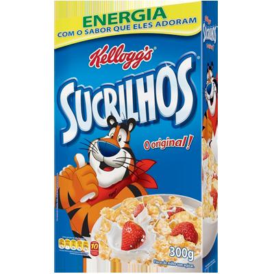 Cereal Matinal Flocos de Milho com Açúcar 300g Kellogg's/Sucrilhos pacote UN