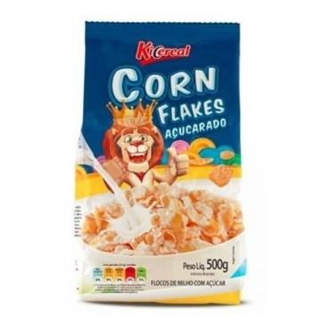 Cereal Matinal Flocos de Milho com Açúcar 500g KiCereal pacote UN