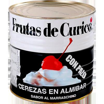 Cereja Marrasquino com cabo 1,65kg Curico lata UN