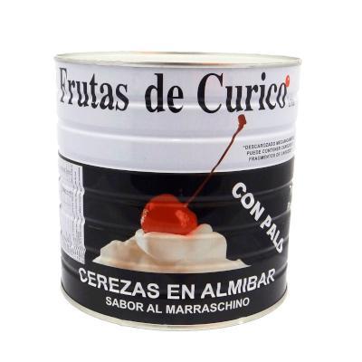 Cereja Marrasquino com Talo 1,65kg Curico lata UN