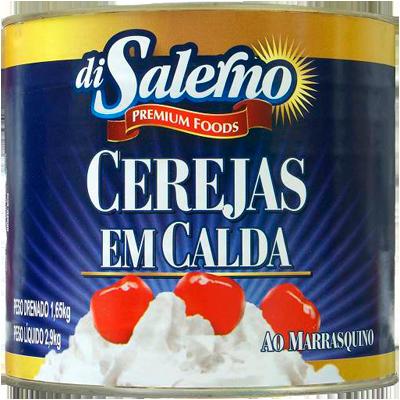 Cereja Marrasquino 1,65kg Di Salerno lata UN
