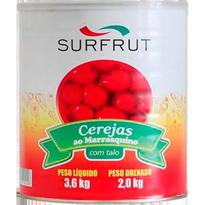 Cereja Marrasquino 2,2kg Surfrut lata UN