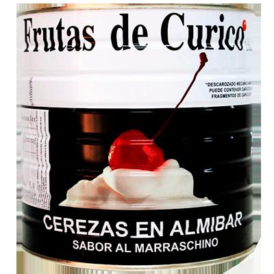 Cereja Marrasquino sem cabo 1,80kg Curico lata UN
