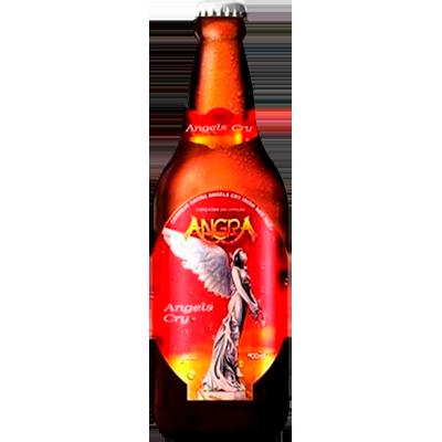 Cerveja artesanal Angra Red Ale -Angels Cry 600ml Quinta Do Malte garrafa não retornável UN