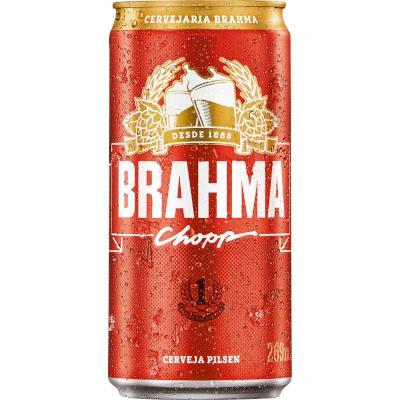 Cerveja Chopp 269ml Brahma lata UN