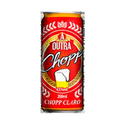 Cerveja Chopp 269ml Outra Chopp lata UN