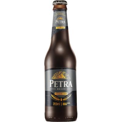 Cerveja Escura 355ml Petra long neck UN