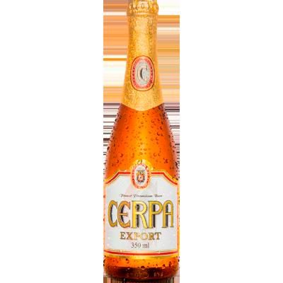 Cerveja Export 350ml Cerpa long neck UN