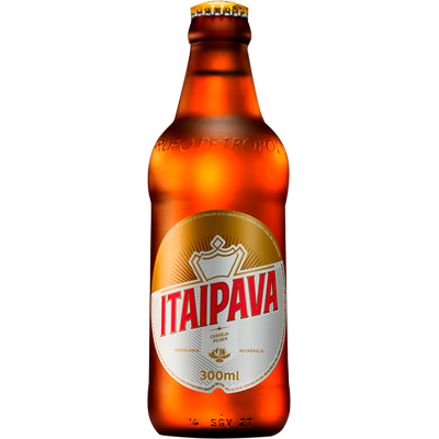 Cerveja  300ml Itaipava garrafa não retornável UN