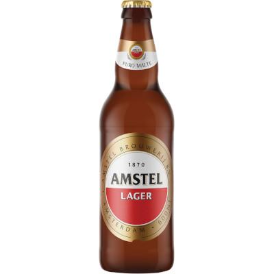 Cerveja  600ml Amstel garrafa não retornável UN