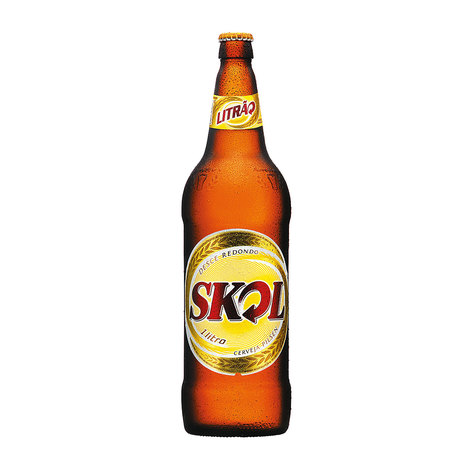 Cerveja  1Litro Skol garrafa retornável UN
