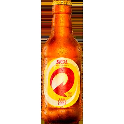 Cerveja  300ml Skol garrafa retornável UN