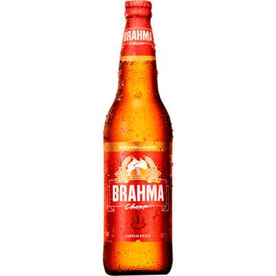 Cerveja  600ml Brahma garrafa retornável UN
