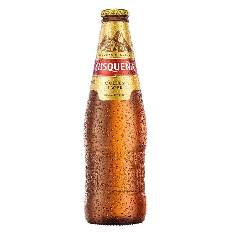Cerveja Golden Lager 330ml Cusquena long neck UN