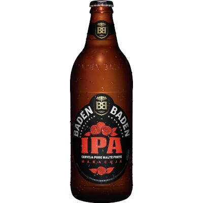 Cerveja Ipa 600ml Baden Baden garrafa não retornável UN
