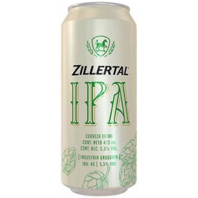 Cerveja Ipa 473ml Zillertal lata UN
