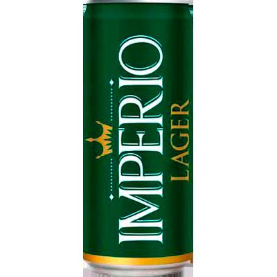 Cerveja Lager Puro Malte 269ml Império lata UN