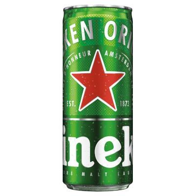 Cerveja  250ml Heineken lata UN