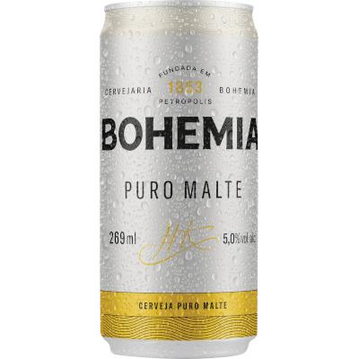 Cerveja  269ml Bohemia lata LT