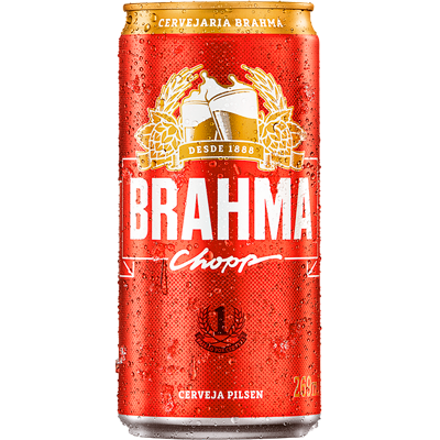 Cerveja  269ml Brahma lata UN