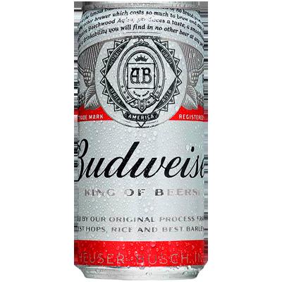 Cerveja  269ml Budweiser lata UN