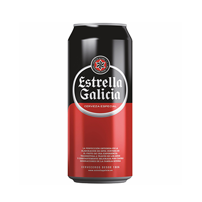 Cerveja  269ml Estrella Galicia lata UN