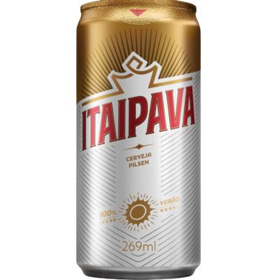 Cerveja  269ml Itaipava lata UN