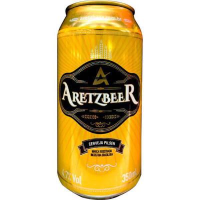 Cerveja  350ml Aretzbeer lata UN