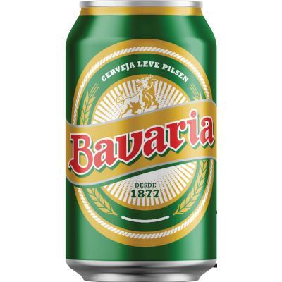 Cerveja  350ml Bavaria lata UN