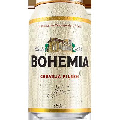 Cerveja  350ml Bohemia lata LT