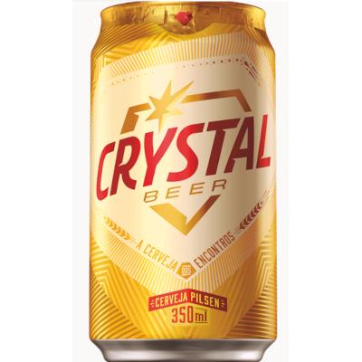 Cerveja  350ml Crystal lata UN