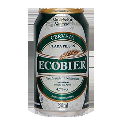 Cerveja  350ml Ecobier lata UN