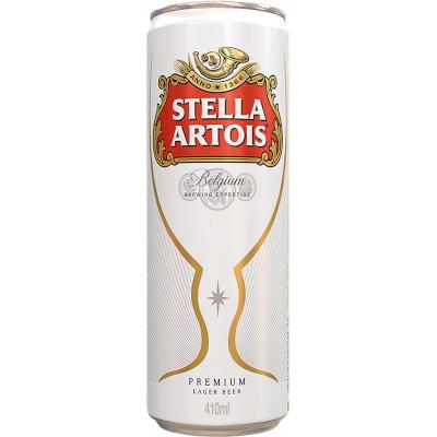 Cerveja  410ml Stella Artois lata UN