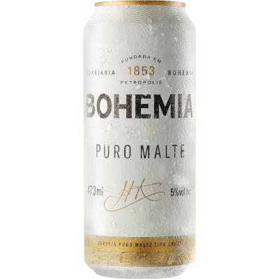 Cerveja  473ml Bohemia lata LT