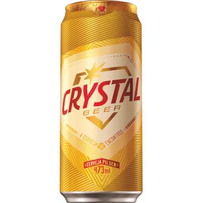 Cerveja  473ml Crystal lata UN