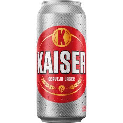 Cerveja  473ml Kaiser  lata UN