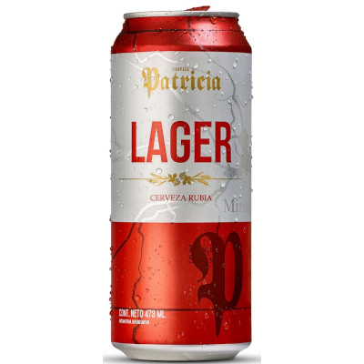 Cerveja  473ml Patricia lata UN