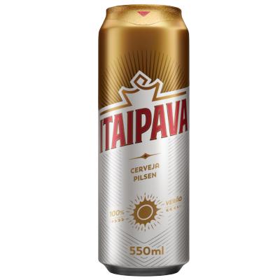 Cerveja  550ml Itaipava lata UN