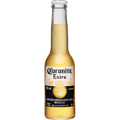 Cerveja  210ml Coronita Extra long neck UN