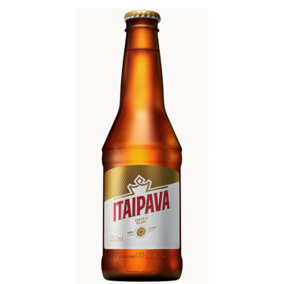 Cerveja  250ml Itaipava long neck UN