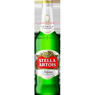 Cerveja  275ml Stella Artois long neck UN
