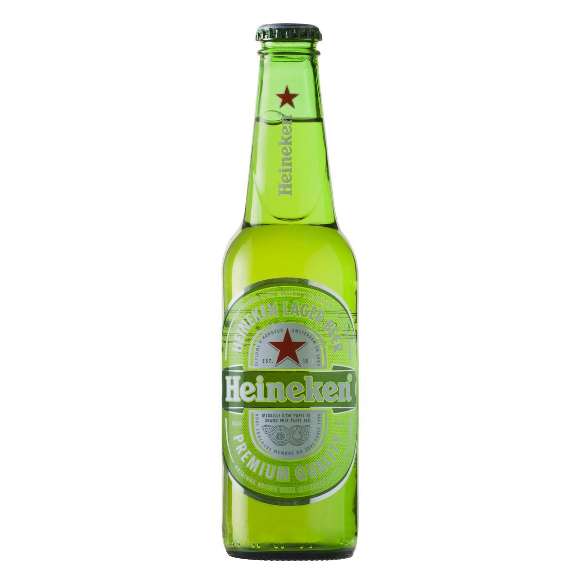 Cerveja  330ml Heineken long neck UN