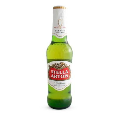 Cerveja  330ml Stella Artois long neck UN