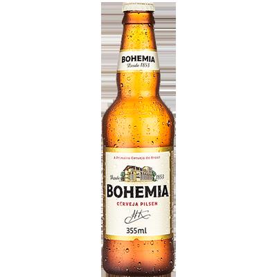 Cerveja  355ml Bohemia long neck UN