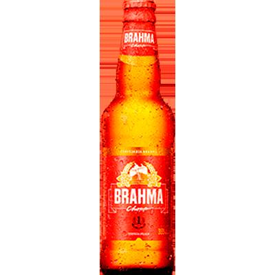 Cerveja  355ml Brahma long neck UN