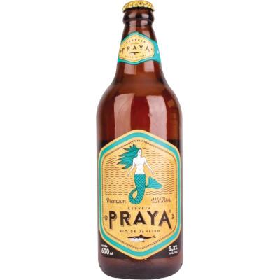 Cerveja Premium 600ml Praya garrafa não retornável UN