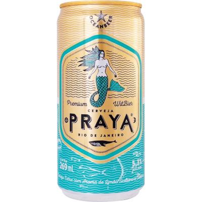 Cerveja Premium 269ml Praya lata UN